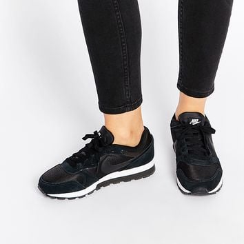 eafe9f49a5612 Nike MD Runner 2 Black   White Trainers from ASOS