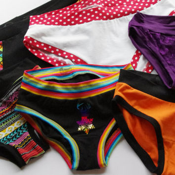Multipack Scrundlewear Ladies Underwear without Elastic Custom Made Scrundie Briefs sizes XS to 3XL  Made to Measure comfy Lingerie