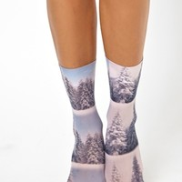 ASOS Snow Scene Ankle Socks