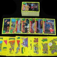 1989 Topps Teenage Mutant Ninja Turtles Set with Sticker (88 + 11) NM/MT