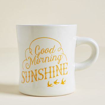 Bright Up Your Alley Ceramic Mug