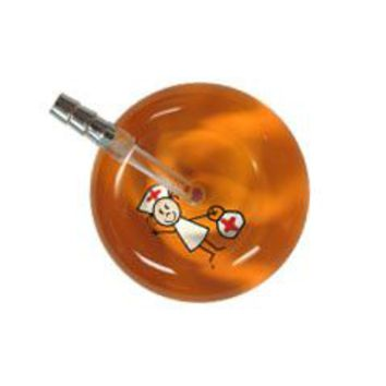 UltraScope Single Stethoscope Stick Nurse Orange