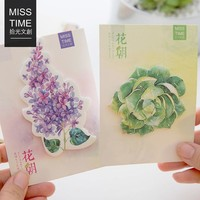 30Sheet/Pcs Roses Diary Notebook Sticky Notes Post It Kawaii Planner Scrapbooking Stickers Stationery School Supplies