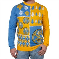 Denver Nuggets - Busy Block Ugly Christmas Sweater