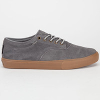 Dekline Jaws Mens Shoes Mid Grey Gum  In Sizes