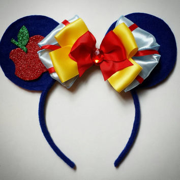 Custom Snow White MOUSE EARS