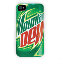 Mountain Dew Soda Drink Caffeine For iPhone 4 / 4S Case