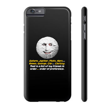 Mighty boosh the moon Phone Case