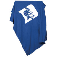 Duke Blue Devils NCAA Sweatshirt Blanket Throw