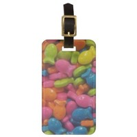 Colorful Fishies Luggage Tag