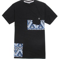 Volcom Trenton Pocket T-Shirt - Mens Tee - Black