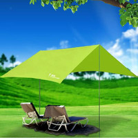 Outdoor shade canopy rain UV beach tent camping tent silvering account pergola multifunction portable tent a270