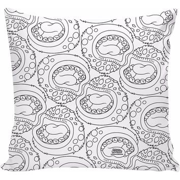 ROCP My Singing Monsters: Coloring Book Maw Pillow
