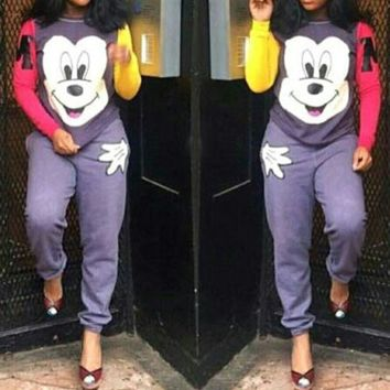 PEAPNH MICKEY MOUSE LOVELY CASUAL TWO-PIECE