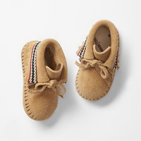 Gap Baby Minnetonka Moccasin Braid Bootie