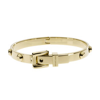 Astor Buckle Bangle, Golden - Michael Kors