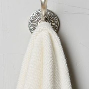 Floral Imprint Hook by Anthropologie in Antique Silver Size: Hook Office