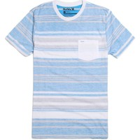 Hurley Chockfull T-Shirt - Mens Tee - Blue -