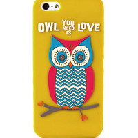 Owl You Need is Love iPhone 5 Cover                       - Francescas
