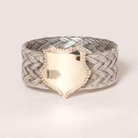 WORKHORSE GOLD BAND RING