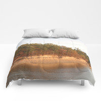 Wolf Creek Park Bluff Comforters by Theresa Campbell D'August Art