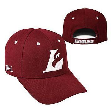 Licensed Wisconsin Lacrosse Eagles NCAA Adjustable Triple Threat Hat Cap Top of the World KO_19_1