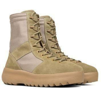 ONETOW Indie Designs Kanye West Favorite Yeezy Season 3 Military Boots