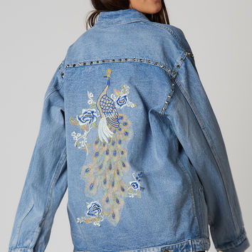 Studded Gem Denim Jacket