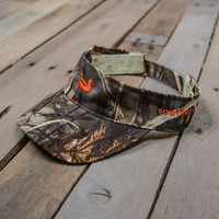 Limited Edition! The Southern Marsh Visor - Realtree MAX-4 Camouflage