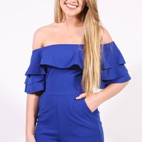 The Royal Romper, Blue