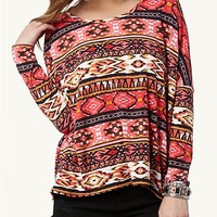 Aztec Boxy Top