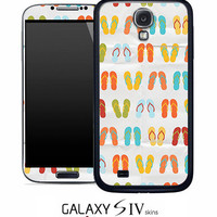 Vintage Flip Flops Skin for the Samsung Galaxy S4, S3, S2, Galaxy Note 1 or 2