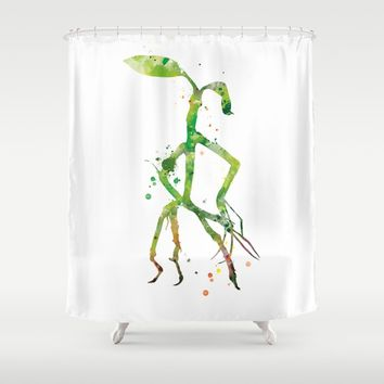 Pickett Bowtruckle Shower Curtain by MonnPrint