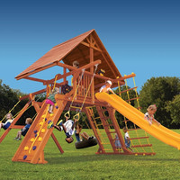 Playground One Supreme Playcenter with Wood Roof