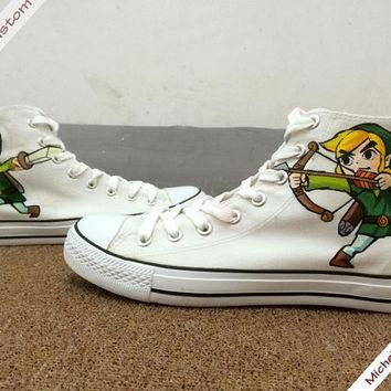 Design Hero Converse Painted Custom Hand Painted Shoes,High Top Converse Shoes,Convers