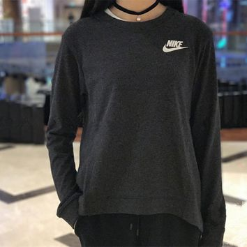 Nike Crew Neck Long sleeves Top Sweater Pullover Sweatshirt One-nice™