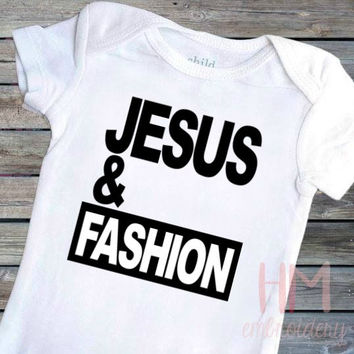 Jesus and Fashion Vinyl Shirt