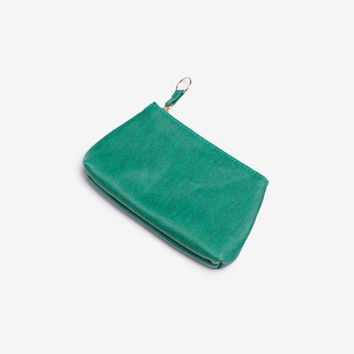 Green Small Gusset Pouch