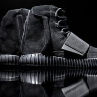 Indie Designs Kanye West Favorite Triple Black Yeezy 750 Boost