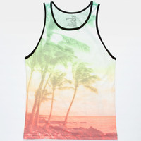 Blue Crown Bahama Breeze Mens Tank White  In Sizes