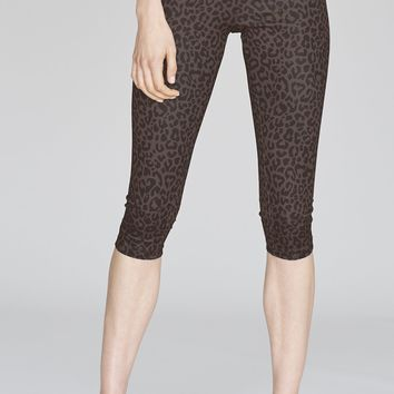 Olympia Activewear Mateo Crop Legging in Leopard
