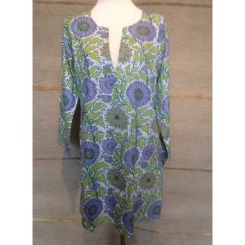 Tunic - Lavender Flowers
