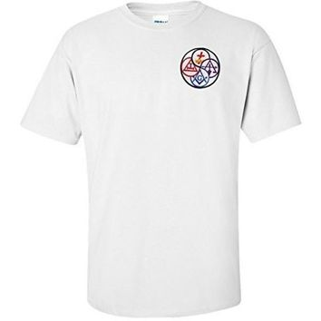 York Rite T Shirt Masonic Logoz USA