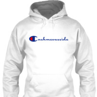 Cash Me Ousside Hoodie (White)