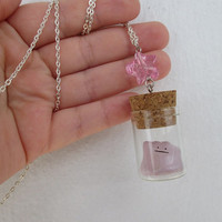 Pokémon Necklace - DITTO - Bandai Toy in a Bottle - Gamer Gear