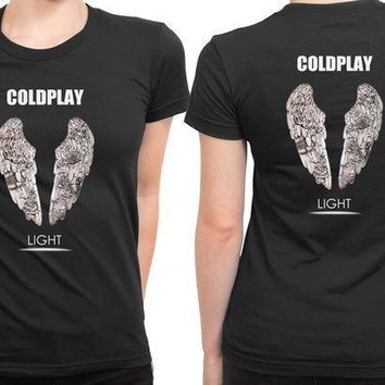 Coldplay Light 2 Sided Womens T Shirt