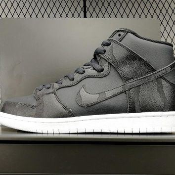 Nike Sb Dunk High Griptape Anthracite/black-white 305050-028 - Beauty Ticks