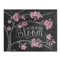 Live Life In Full Bloom - Print