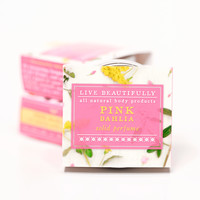 Pink Dahlia - All Natural Solid Perfume
