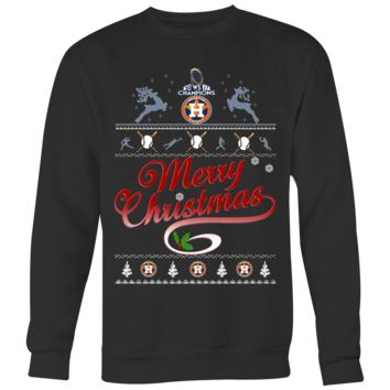 Houston Astros Champs Christmas Sweaters For Men Women (6 Colors)